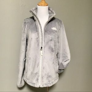 North Face Fuzzy Zip Jacket